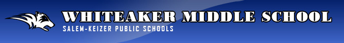 Whiteaker Middle School Retina Logo