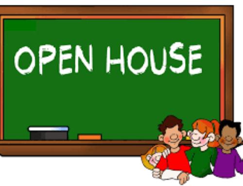OPEN HOUSE September 10